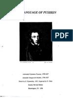 The Language of Pushkin