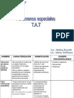 FENOMENOS ESPECIALES TAT
