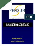 BalancedScorecard Pensum