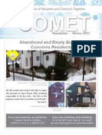 COMET Winter 2015 newsletter