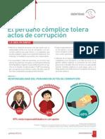 El Peruano Cómplice Tolera Actos de Corrupción - IDENTIDAD