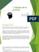Deber - Historia de La Psicologia Social