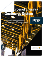 Six Sources of Energy One Energy System