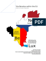 The place of the Benelux within the EU