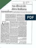 A. Riccardi - E La Chiesa Divorzio Dalla Politica Italiana