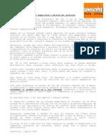 Comunicato stampa 30.03.2010 - PDL e Lega Nord non hanno maggioranze e persone per governare