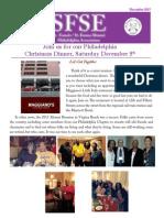 Philadelphia Chapter Newsletter December 2015