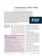 Treatment of Constipation in Older Adults