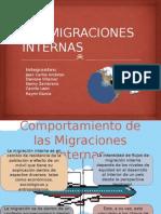 Las Migraciones Internas