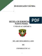 Sílabo de Informática i Ets-pnp-pp 2013