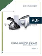 1unidad Sistemas de Iluminacion (Conceptos Generales )