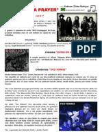 Partitura Bateria Bon Jovi Living on a Prayer Portal Daniel Batera Drum Sheet