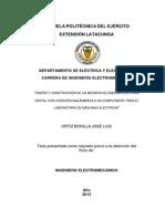 Medidor de consumo electrico digital
