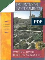 Al Encuentro Del Nuevo Testamento Walter a Elwell