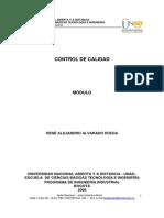 Control de calidad. Alvarado Rueda.