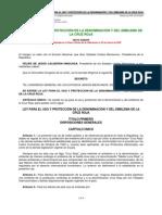 Ley para el uso y protección de la denominación y del emblema de la Cruz Roja mexico