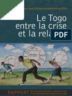 Rapport Togo Entre La Crise Et La Relance OSC Fevrier 2010