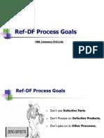 Cost Reduction Techniques (Rework & Rejections - Process Goals