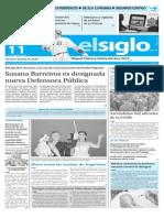 Edicion Impresa Elsiglo 11-12-2015