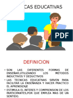 TECNICAS EDUCATIVAS.pptx
