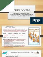 Acuerdo 716 Ceps