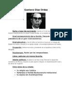Proyecto integrador Gustavo Díaz Ordaz