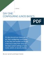Day One- Configuring Junos Basics