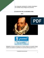 Informe Ejecutivo Segunda Fase Cervantes