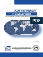 Charles P. Oman-Corporate Governance in Development_ the Experiences of Brazil, Chile, India, And South Africa (Oecd Development Centre) (2004)