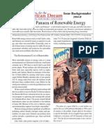 The False Panacea of Renewable Energy