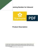 LRN for Inbound Product Description V500