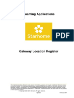 Gateway Location Register Product Description V500