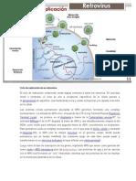 Ciclo de Replicación de Un Retrovirus