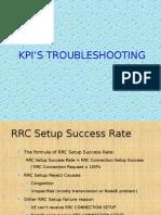 summary of Umts Kpi's Troubleshooting
