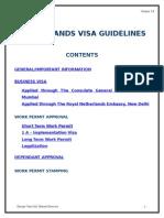 Netherlands Visa Guidelines- Verision 1.8