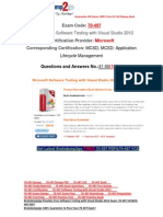 [Braindump2go] Latest 70-497 PDF Free 100% Pass Guaranteed 41-50