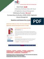 [FREE]Braindump2go Latest 70-498 VCE Guarantee 100% Pass 31-40