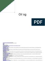 oil SG