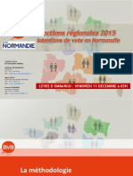 Fichier Bva Pour Paris Normandie - Regionales 2015 - Intentions de Vote - Normandie757e8