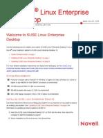 SUSE Linux Enterprise Desktop 10 Installation