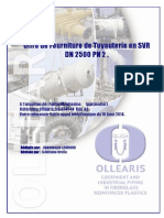 08-5741-14 Offre de Fourniture Tuyauterie DN2500