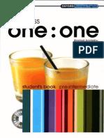 Business One-One Pre-Intermediate - Student's Book