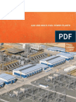 Gas and Multi Fuel Power Plants 2014
