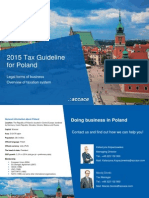 2015 Tax Guideline for Poland