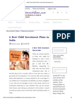 6 Best Child Investment Plans in India _ Myinvestmentideas