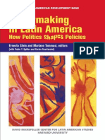 Policymaking in Latin America. How Politics Shapes Policies
