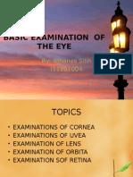 Basic Examination of the Eye