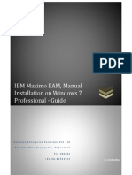 Maximo Installation Document - Win 7 Pro