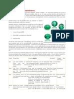 Alternatives for Gemstones