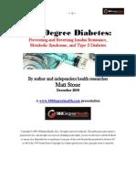 [Matt Stone] 180 Degree Diabetes Preventing and Reversing Insulin Resistance